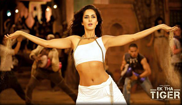 Katrina Kaif Ek Tha Tiger Movie Song Photo