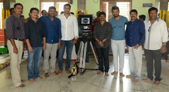 Nandamuri Kalyan Ram  Kajal Aggrawal  s MLA Movie Pooja Stills  1
