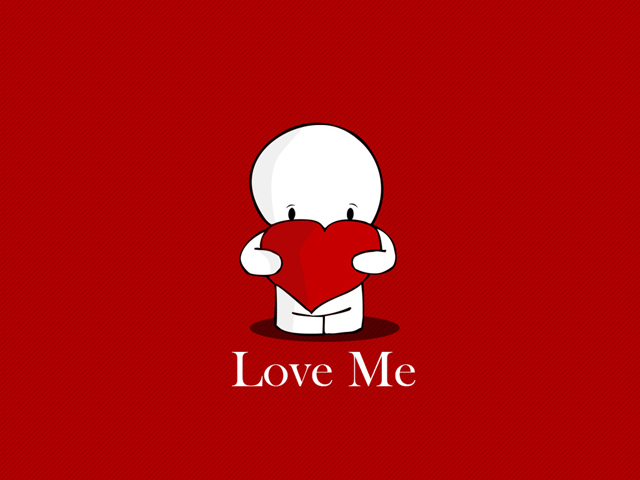 Valentines Day Love me  Wallpaper