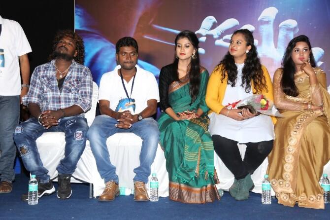 Santhoshathil Kalavaram Tamil Movie Audio Launch  12