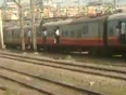 Mumbai Local train Dangerous Stund recorded by pravin more
