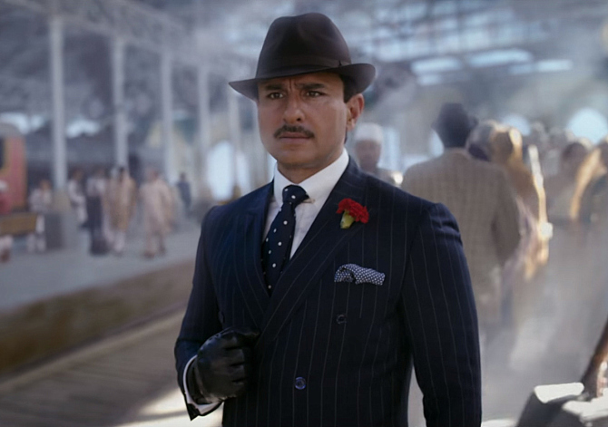 Saif Ali Khan in Rangoon