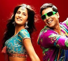 Katrina Kaif  with Akshay Kumar in Tees Maar Khan